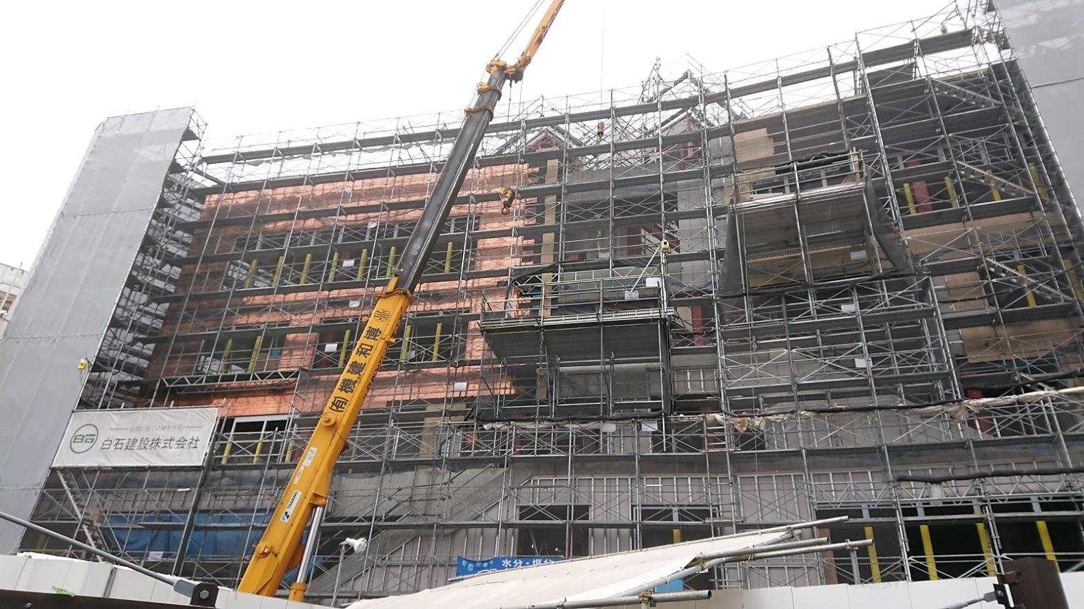 シモキタフロント建設中写真